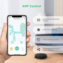 Robot-Vacuum-Cleaner-2200Pa-Super-Suction-Electric-Robotic-Vacuum-Mop-Cleaning-for-Pet-Hair-App-Control-Laser-Smart-Navigation-Precise-Map-180min-Runtime-OPOVE-Clearobo-3-Black