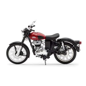 Royal Enfield Redditch Red Mini 3D Scale Model