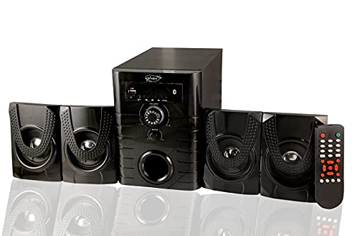 MUSIC WINDOWS Home Theater 4.1 Channel Multimedia Speakers Systems with Bluetooth, Remote Control, USB TODAY OFFER ON AMAZON