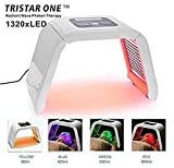 HydraskincarePro 4 Color LED Face Photon Red Light Therapy For Healthy Skin Rejuvenation Collagen, Anti Aging, Wrinkles, Scarring Korean Skin Care, Facial Skin Care Machine 2018 Hot
