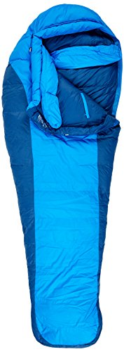 Marmot Sawtooth Sleeping Bag - Cobalt Blue/Blue Night Left-Zip