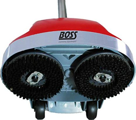 Boss-Cleaning-Equipment-B200752-Scrubber-Gloss-Boss-470rpm-18-3-Wire-Cord-Red
