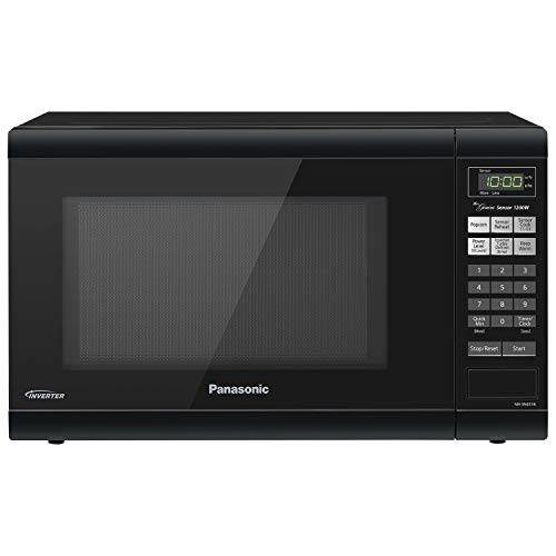 Panasonic Microwave Oven NN-SN651B Black Countertop with Inverter Technology and Genius Sensor, 1.2 Cu. Ft, 1200W