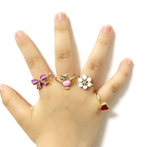 super for finger love small girl flash little quality jewelry ring square high rings item women