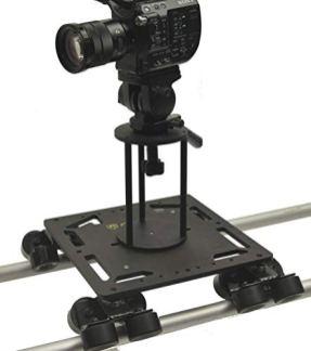 Glide-Gear-DEV-10-Professional-Video-Camera-Roller-Cine-Dolly-PRO