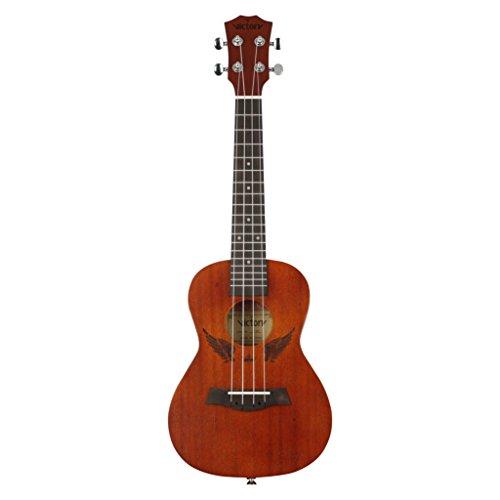 Concert-ukulele-23-Inch-Mahogany-and-Aquila-Strings-with-Beginner-Kit-Bag-Tuner-Straps-Nylon-String-Picks-Brown-Angel