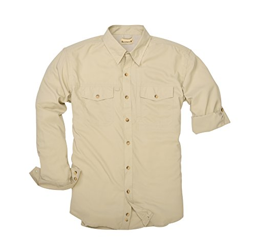 Backpacker Expedition Travel Shirt, Birch, X-Large
