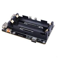 Raspberry Pi 4 UPS Plus Power Supply Uninterrupted UPS HAT 18 650 Backup Battery Power Supply Management Expansion Board…