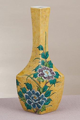Kutani Yaki(ware) Vase Peony
