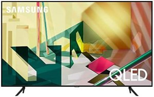 SAMSUNG 55-inch Class QLED Q70T Series – 4K UHD Dual LED Quantum HDR Smart TV with Alexa Built-in (QN55Q70TAFXZA, 2020 Model)