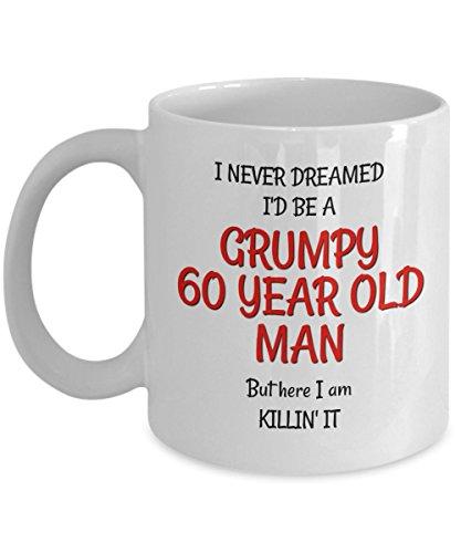 60th Birthday Mug for Men - Funny Gag...