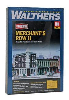 Walthers-Cornerstone-Series-Kit-HO-Scale-Merchants-Row-II