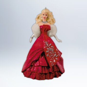 Celebration Barbie 13th 2012 Hallmark Keepsake Ornament