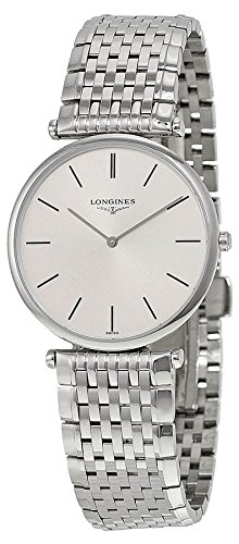 410GTV6XW2L Longines L47094726 La Grande Classique Stainless Steel Mens Watch - Silver Dial Color: silver