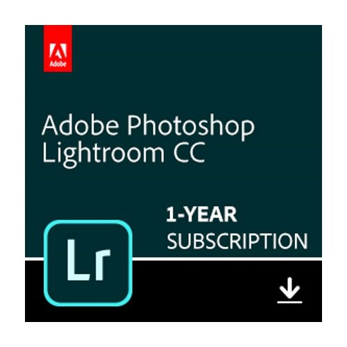 Adobe Photoshop Lightroom CC plan | 1 Year Subscription (Mac Download)