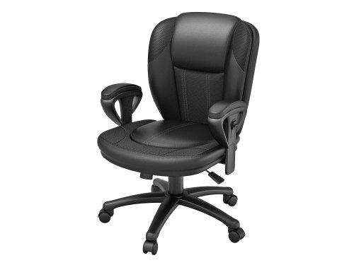 Z-Line Designs Manager Chair, Black Bonded