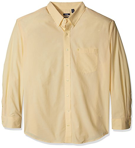 IZOD Men's Performance Natural Stretch Solid Long Sleeve Shirt (Big & Tall and Tall Slim)