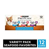 Purina Pro Plan Canned Adult Seafood Variety Pack, 25 lb.