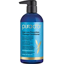 PURA D'OR Hair Thinning Therapy Conditioner for Added Moisture,