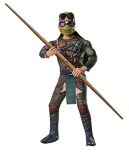 ninja turtles deluxe donatello boys costume for only 1539 reg save on kids halloween costumes on amazon