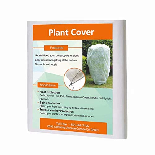 Agfabric Warm Worth Tree/shrub cover, Protecting bag for frost protection,1.5oz (84''x72'')