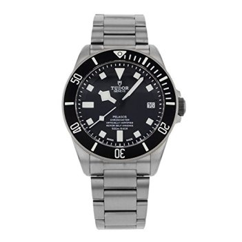 Tudor Pelagos Black Dial Titanium Mens Watch 25600TN-BKTI