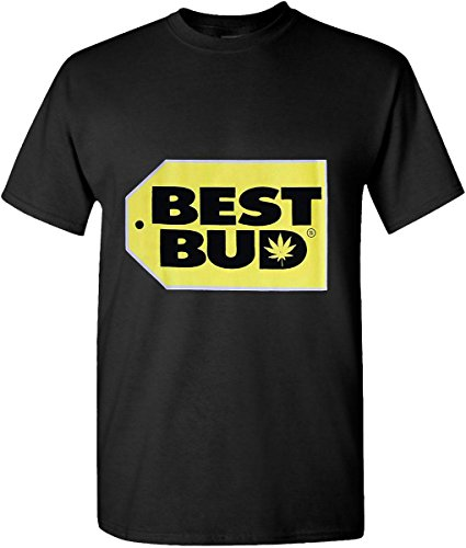 Hat and Beyond Marijuana Weed Leaf T Shirts Hip Hop Graphic New Edition (Medium, 08_Best Bud)