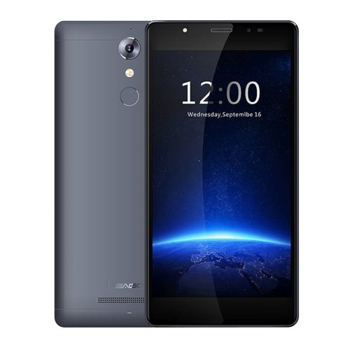 LEAGOO T1 16GB 5.0 Inch Android 6.0 Smartphone, MT6737 Quad Core, 2GB RAM GSM & WCDMA & FDD-LTE (Black)