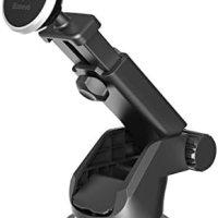 Baseus SULX-0S Solid Teleskopik Vantuzlu Mıknatıslı Torpido Versiyon Araç İçi Telefon Tutucu, Gümüş 13