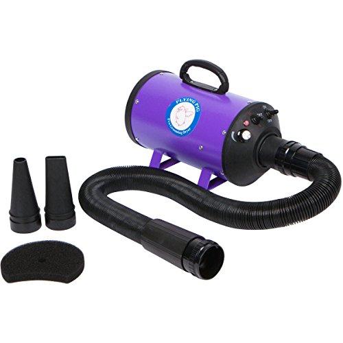 Flying Pig Grooming One Purple High Velocity 4.0 Hp Motor Dog Pet Grooming Force...