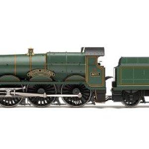 Hornby 00 Gauge BR 2-6-0 British Monarch 4-6-0 Star Class Steam Locomotive 410pXiElMwL