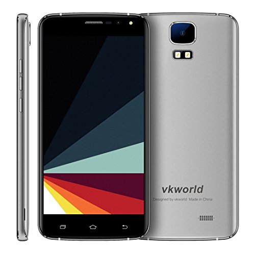 VKworld S3 1GB+8GB 5.5 Inch Android 7.0 MTK6580A Quad Core up to 1.3GHz WCDMA & GSM (Grey)