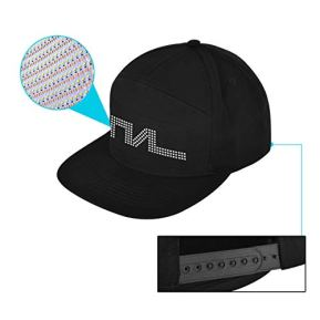 DIY-LED-Hats-for-Men-Woman-APP-Controlled-Display-Screen-LED-Hat-Baseball-Halloween-Birthday-Festivals-Fun-Parties-Sports-Birthday-Costumes-EDM-Flashing-Display-Messages-Animation-Drawings