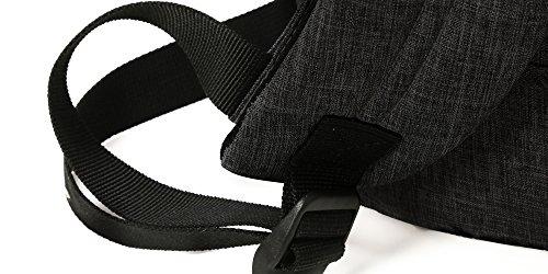 410wLx0VAuL - WAABI-SAABI Polyester Grey Laptop Backpack
