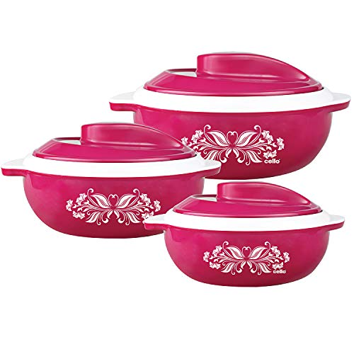 Cello-Hot-Serve-Plastic-Casserole-Set-3-Pieces-Pink