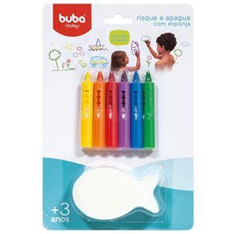 Risque E Apague Com Esponja – Buba, Buba, Colorido