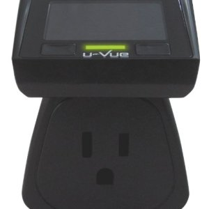 U-Vue Single Socket Electricity Money Monitor