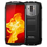 Rugged Cell Phones Unlocked, Blackview BV6800 pro 4G LTE IP68 Waterproof Smartphone 4GB+64GB 6580mAh Android 8.0 Octa Core 8MP+16MP Dual Rear Camera 5.7' FHD+IPS AT&T T-Mobile (Black)
