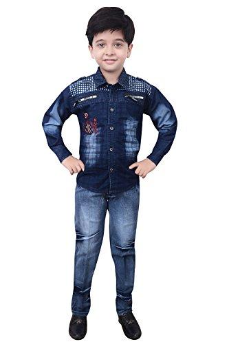 Arshia Fashions Boy's Cotton Jacket Suit