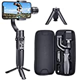 Hohem Smartphone Gimbal Stabilizer 3-Axis Handheld iPhone stabilizer for Xs Max Xr X 8 Plus 7 6 iPhone Gimbal Stabilizer iPhone gimble for Galaxy S9+ S9 S8+ S8 S7 S6 Q2 Edge (iSteady Mobile Plus)