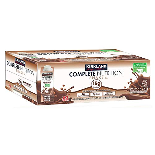 Kirkland Signature Complete Nutritional Shake Chocolate, 32 Count