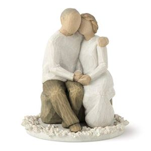 Willow Tree Anniversary, sculpted hand-painted cake topper 411D 2B2kXqGL