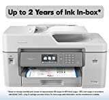 Brother Inkjet Printer, MFC-J6545DW XL, INKvestment Color Inkjet All-in-One Printer with Wireless, Duplex Printing, 11' x 17' Scan Glass and Up to 2-Years of Ink in-Box