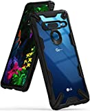 Ringke Fusion-X Designed for LG G8 ThinQ Case Impact Resistant Cover (6.1') 2019 - Black
