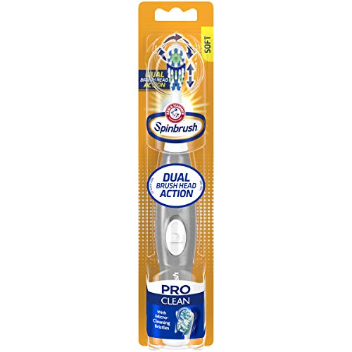 Spinbrush Proclean Battery Powered Toothbrush, Soft