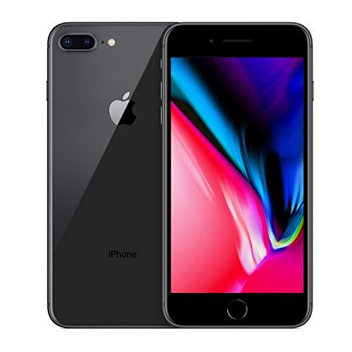 Apple iPhone 8 Plus 256GB Unlocked GSM Phone - Space Gray (Renewed)