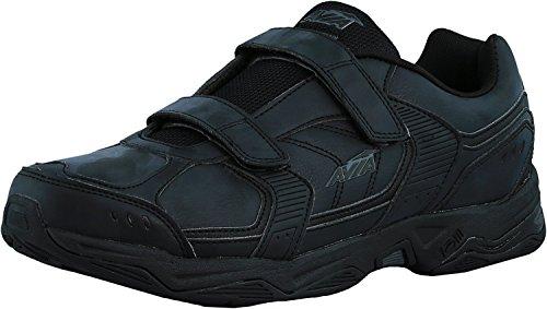 Avia Avi-Tangent Strap Mens Walking Shoes (11 4E (X-Wide), Black/Iron Grey)