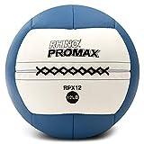 Champion Sports Rhino Promax Slam Balls, 12 lb, Soft Shell with Non-Slip Grip - Medicine Wall Ball for Slamming, Bouncing, Throwing - Exercise Ball Set for Crossfit, TRX, Plyometrics, Cross Training