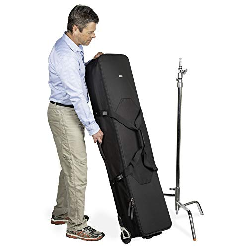 Think-Tank-Photo-Stand-Manager-52-Professional-Photography-Video-Lighting-Equipment-Roller-Bag-for-Light-Stand-Bag-Carrying-C-Stands-Photo-Lighting-Bundle-Kit-Tripod