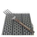 GrillGrate Set of Three 13.75' (Interlocking) + Grate Tool
